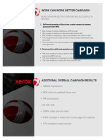 Xerox Work Can Work Better Campaign Case Study