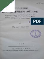 Gunther, Erlebte Rede Literatura Italiana