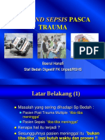 Sirs and Sepsis Pasca Trauma