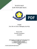 Status Ujian Katarak Baru dengan Prof.Mailangkay