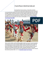 Information About Tourist Places in North East India and Culture