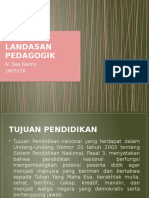 Tujuan Pendidikan, Hak & Kewajiban Peserta Didik,Pendidik Dan Lingkungan Pendidikan
