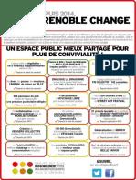 Grenoble Change #7 - Un espace public mieux partagé pour plus de convivialité !