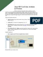 Tutorial Simulasi SD Card Dan Arduino Menggunakan Proteus