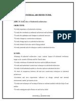 SEMINAR TOPIC Industrial Architecture
