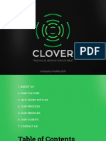 Cloverads Credentials 2017