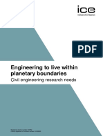 Engineering to Live Within Planetary Boundaries