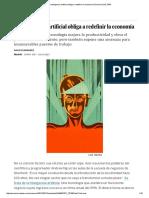 La Inteligencia Artificial Obliga a Redefinir La Economía _ Economía _ EL PAÍS