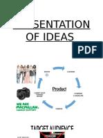 Presentation of Ideas