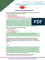 CCNA 3 (v5.0.3 + v6.0) Chapter 9 Exam Answers 2017 – 100% Full