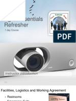 1 Day Agile Essentials Refresher v1.2