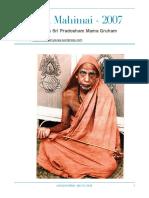Periyava Mahimai Newsletters - 2007.pdf