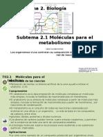 2_1_Moléculas para el metabolismo