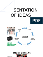 Presentation of Ideas