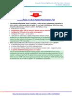 CCNA 3 Practice Final Exam Answers 2017 (v5.0.3 + v6.0) – Full 100%