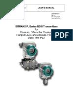 Siemens DP Xmtr