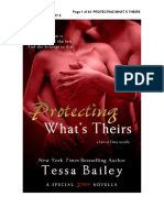 2.- Protecting what´s theirs - Serie Line of duty - Tessa Bailey