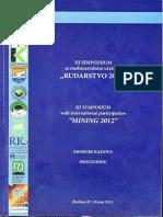 Rudarstvo 2012