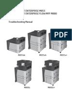 HP LaserJet Enterprise M855  M880 Flow MFP Troubleshooting Manual.pdf