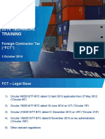 2014 Technical Training for New Joiners- Foreign Contractor Tax