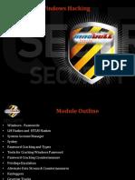 Chapter 6 - Windows Hacking