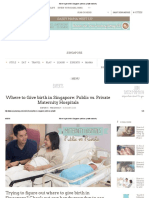 Where to Give Birth in Singapore_ Public Vs