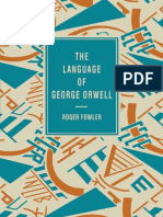 (The Language of Literature) Roger Fowler (auth.)-The Language of George Orwell-Macmillan Education UK (1995).pdf