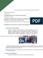 Requisitos Para La Elaboracion de Proyectos de Saneamiento Basico Para Una Localidad Rural