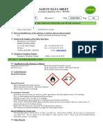 Fluxo p125 Aero - Msds Revision 1 - 01.01.2015
