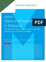 2017-05-19 FMR Islam Und Frauenrechte in Malaysia