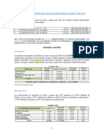 Balanza Comercial de Ecuador de Enero a Marzo Año 2017