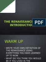 renaissance part 1