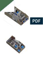 RENDER de Una Casa de Dos Plantas
