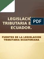 Legislación tributaria en el Ecuador