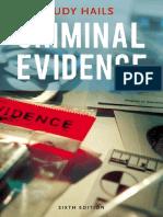 Criminal Evidence- 6th Edition
