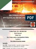 Apresentação Metodologia Da Investigacao Maj Vanderlino