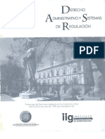 Derecho Administrativo y Sistema de Regulación
