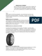 Ruedas Del Automóvil