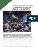 Traverso - 2016 - Espectros Del Fascismo