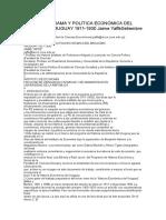 IDEAS, PROGRAMA Y POLÍTICA ECONÓMICA DEL BATLLISMO URUGUAY 1911-1930.doc