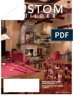 "Custom Builder Magazine ""Desert Blend - Craftsman Meets Southwest"""