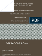 Operadores c 32