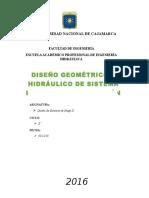 Informe Diseño Geométrico de Sistema Por Aspersión Sandoval