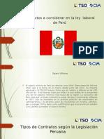 Ley Laboral Peru