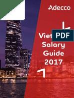 Adecco Vietnam Salary Guide 2017