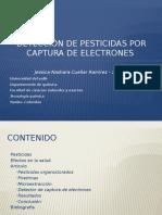 Detección de Pesticidas Por Captura de Electrones