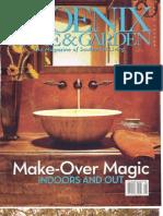 """Phoenix Home & Garden Magazine """"Point of View"""""""