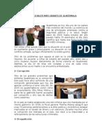 10 Problemas Sociales Más Graves de Guatemala, Ciclo Escolar