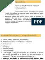 SI- Sampling and Sampling Distributions (1)