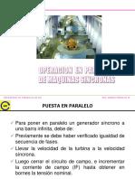 OPERACION EN PARALELO DE G.E. Universidad Nacional del Callao -LIMA PERÚ